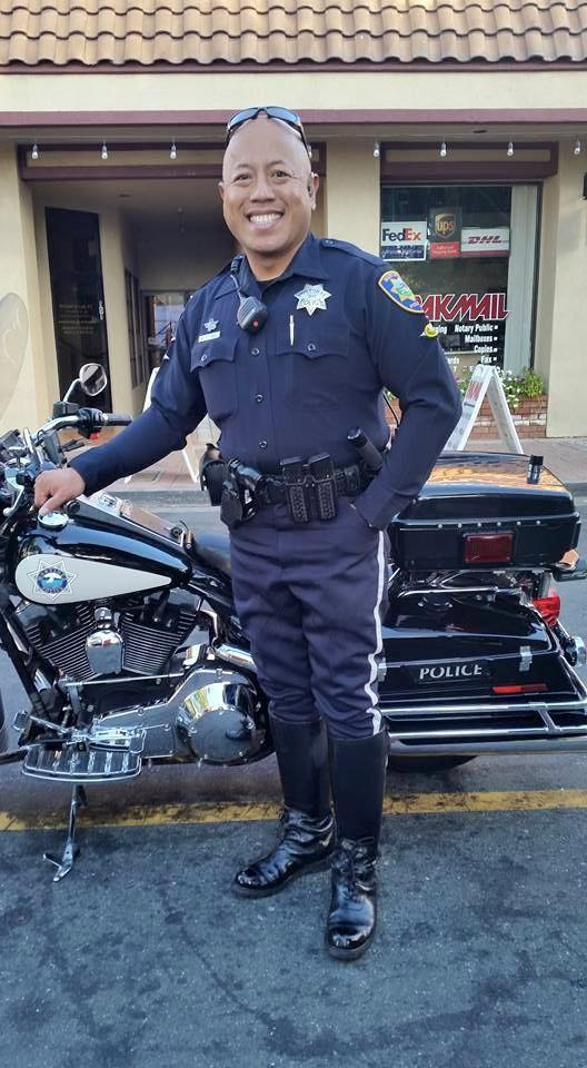 Officer Mike Estanol