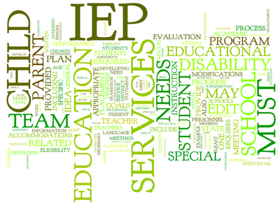 IEP Words Logo