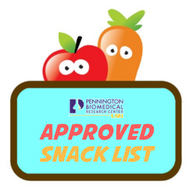 Approved Snack List