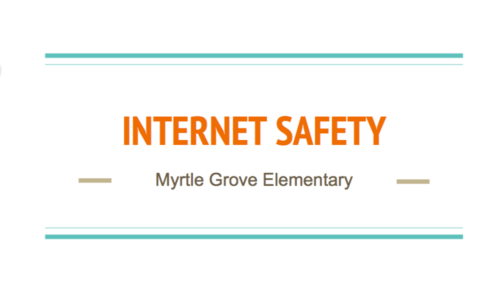 Internet Safety