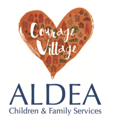 Aldea Courage Village logo.png