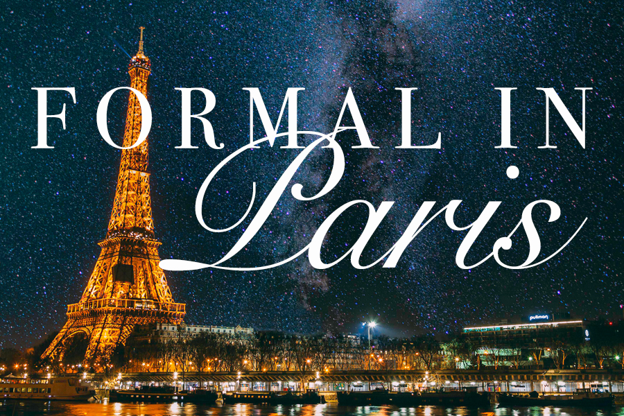 Formal in Paris