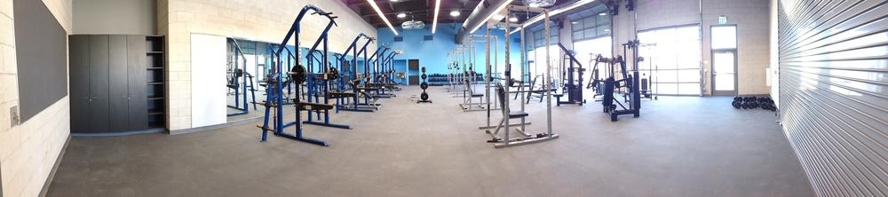 CdM Weight Room Interior