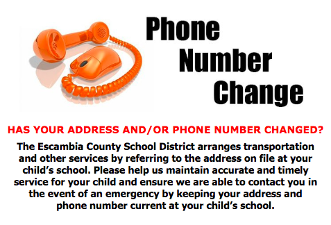 Phone Number Change