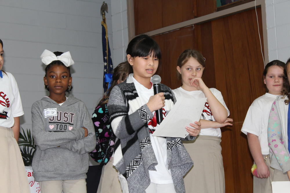 Mudbug Club student speeches
