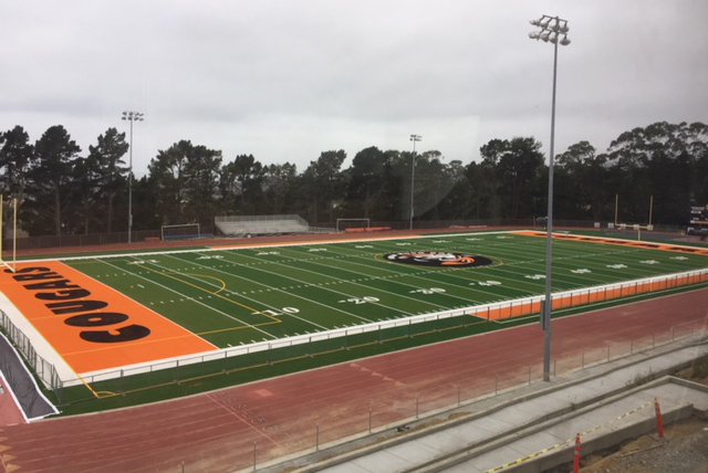 Half Moon Bay High School Track
