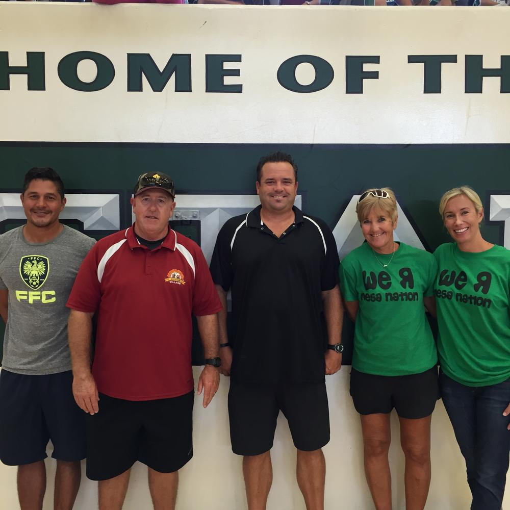Physical Education Department Faculty
