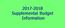 Supplemental Budget Information