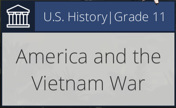 America and VietnamWar Graphic
