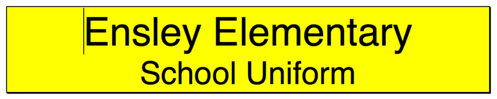 Enlsey elementary School Uniform