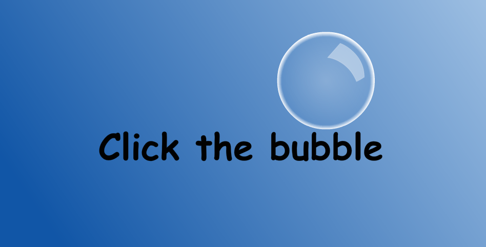 Click Bubble