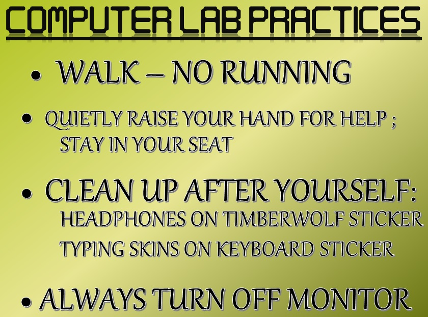 Computer LAB Practices  and Rules.