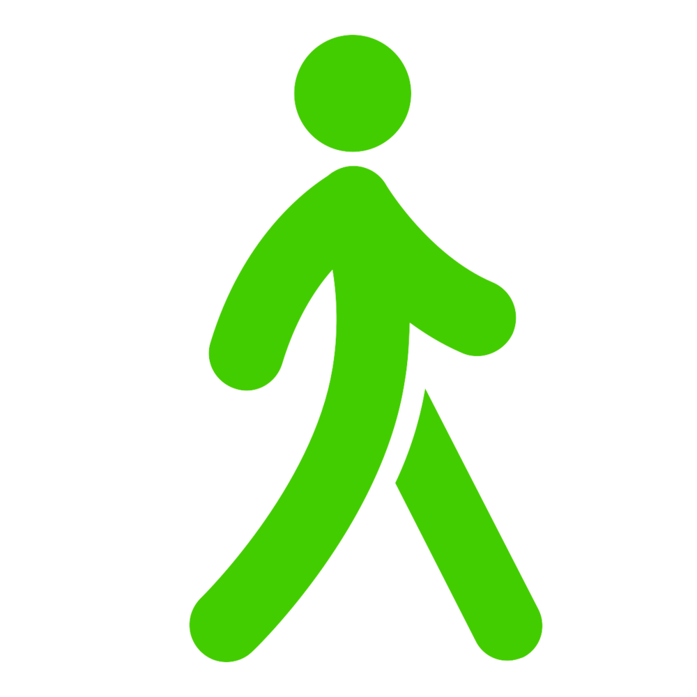 person walking
