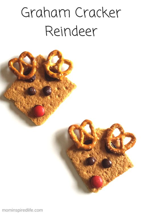graham cracker reindeer