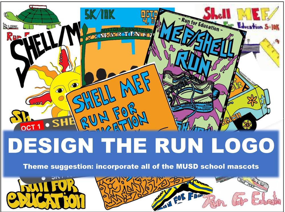 Design the run logo