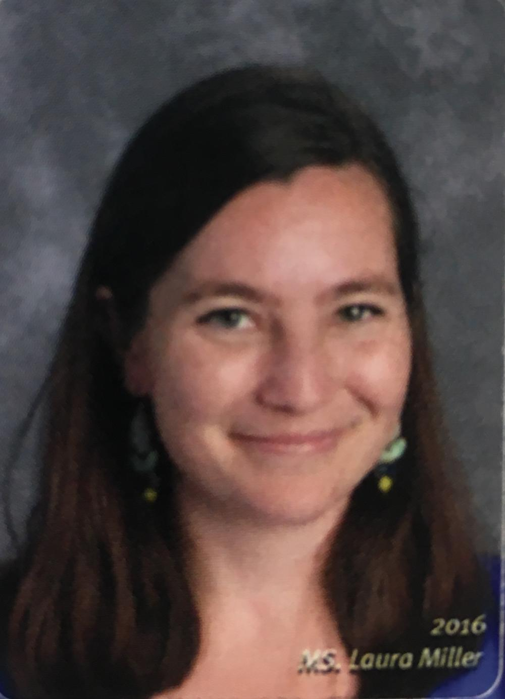 Picture of teacher Laura Miller.