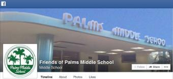 Friends of Palms on Facebook