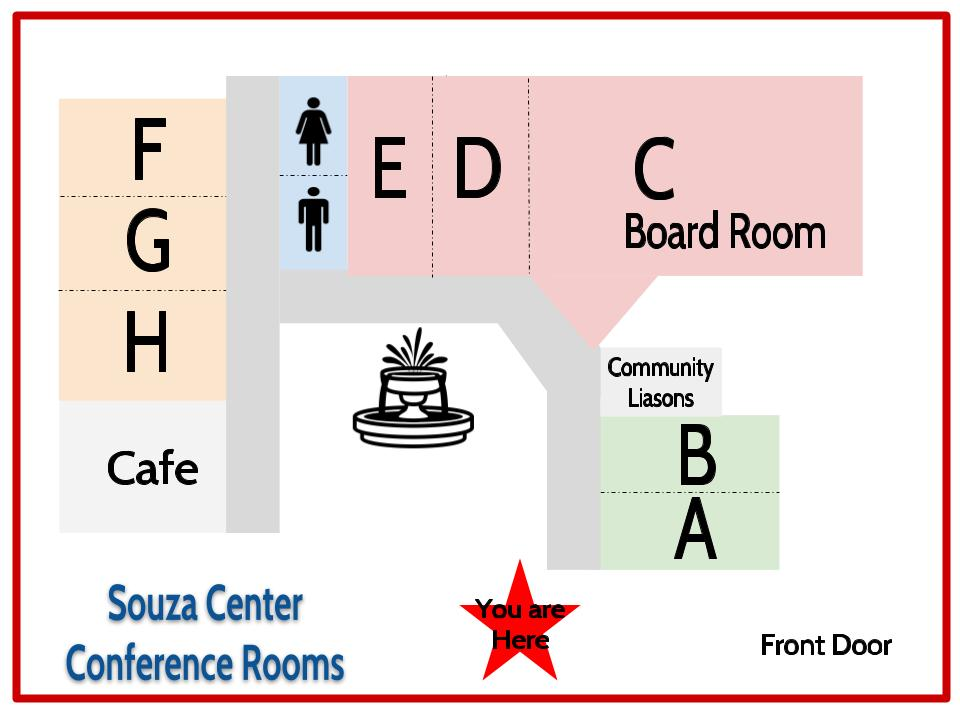Souza Room Map