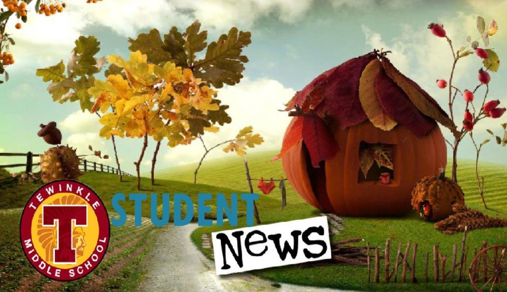Student news graphic