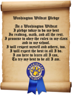 Washington Wildcat Pledge