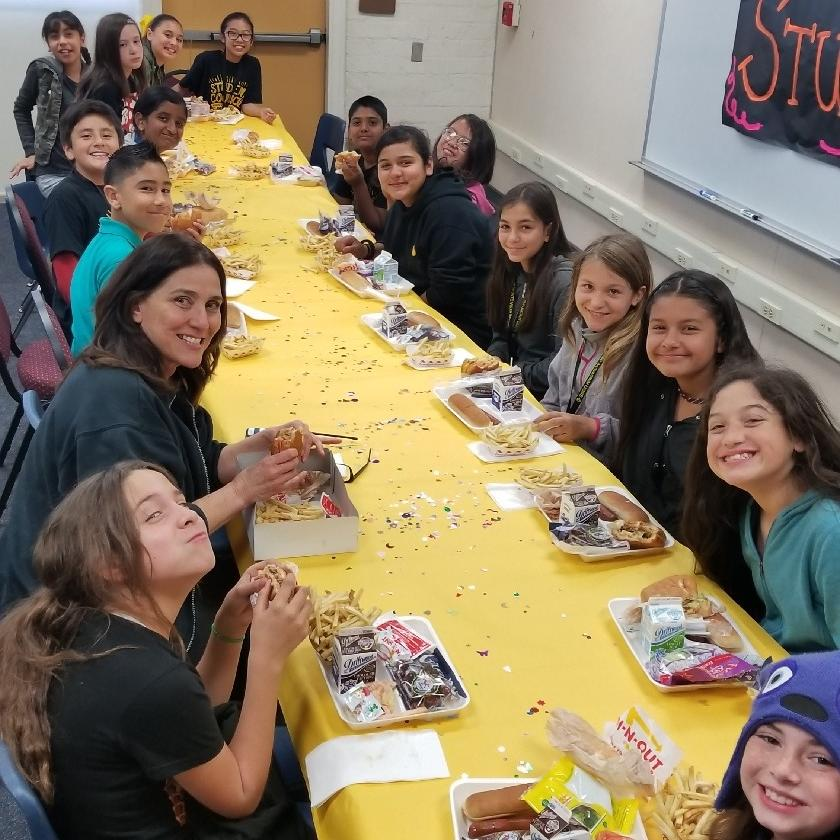 Student Council Luncheon