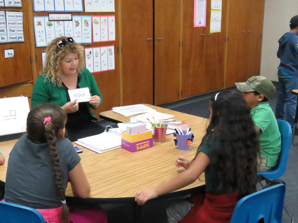 Mrs. Samaniego Reading Specialist