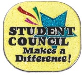 Student Council makes a difference pin
