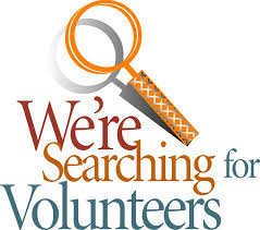 we re searching for volunteers