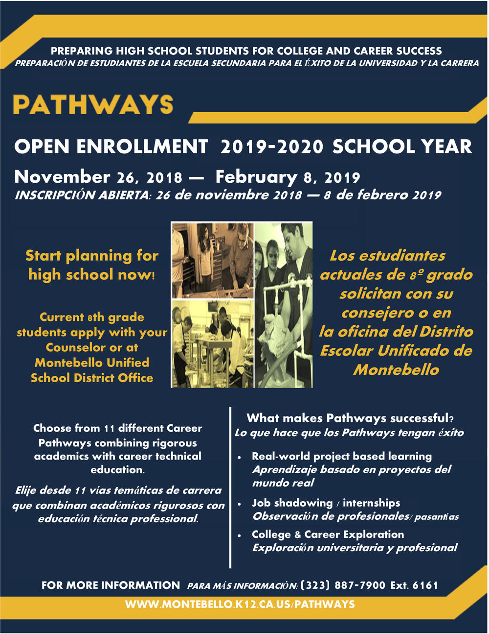 Pathways Open Enrollment Flyer