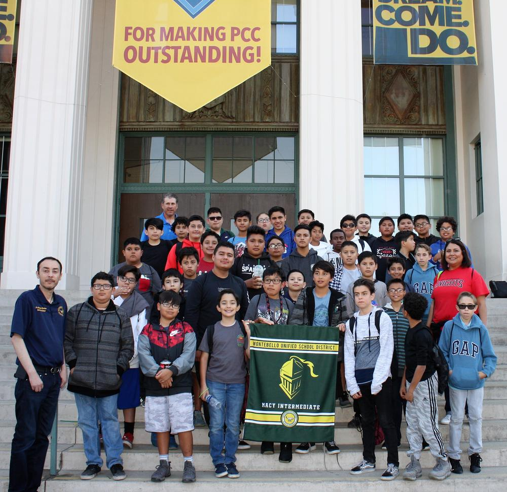Macy Students at the Adelante Young Men Conference 2018