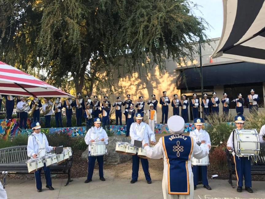 Alhambra High School Band at MEF run for education