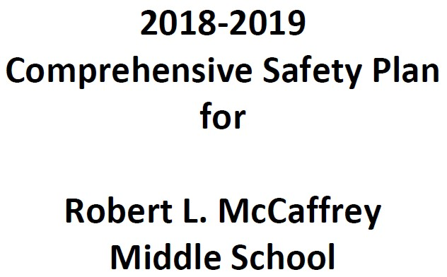 2018-19 Safety Plan Cover photo