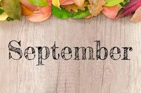 September Clip Art