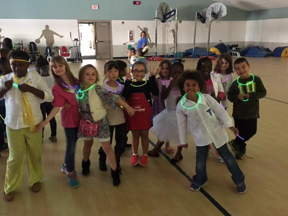 Glowing at the Positive Behavior Party
