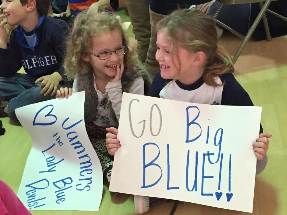 Jammers love the Blue Devils