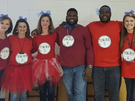 5th grade teachers are WILD about Dr. Seuss Day!