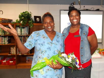 Support Staff of the Year Stephanie Hines