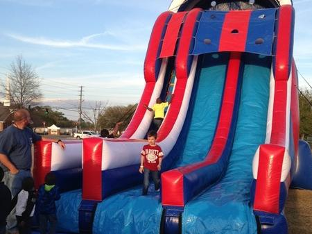 Thanks to Sunny Slides Inflatables