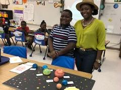 We loved learning about our galaxy!