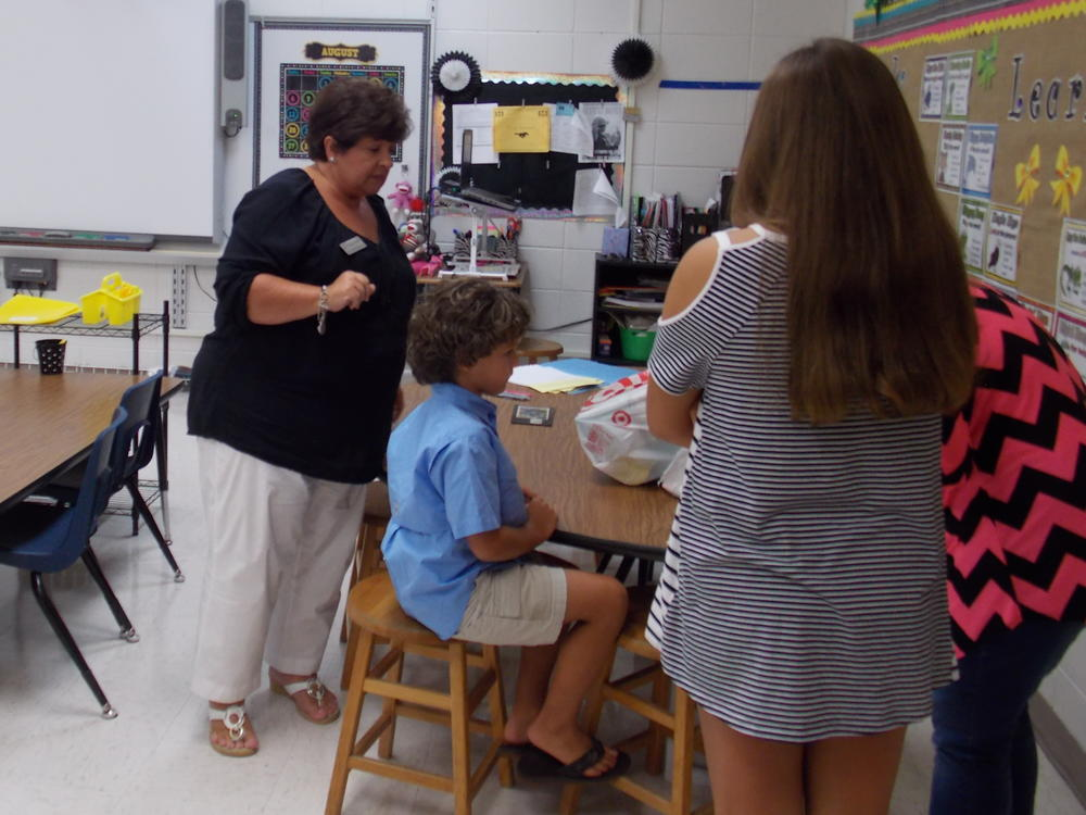 1st grade welcomes parents