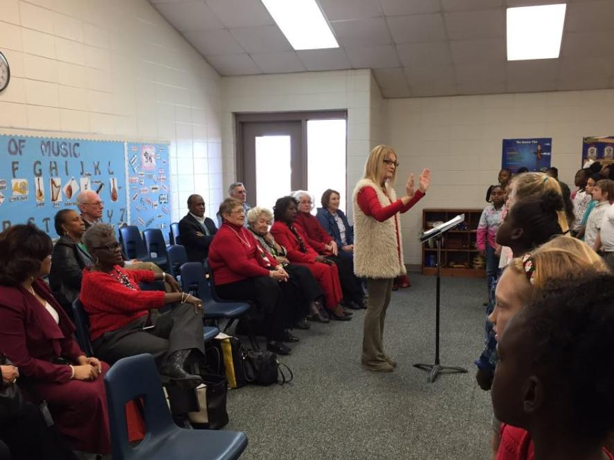 Chorus performs for our Retired Educators
