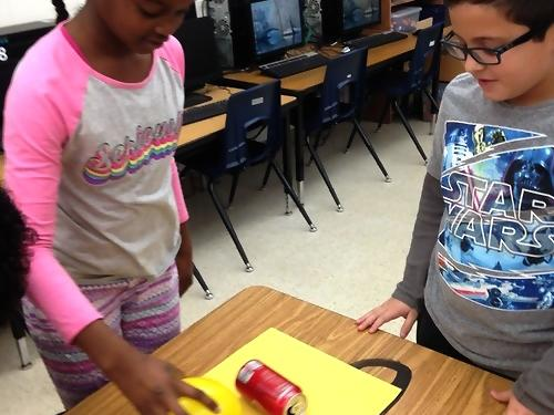Static Electricity Can Races What fun you can have with science!