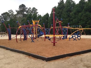 We LOVE our new playground!!! Thank you Bulloch County!!!