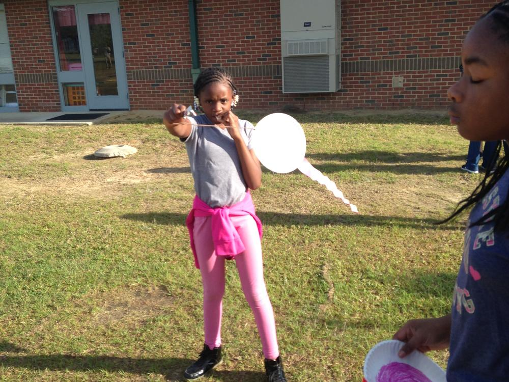 Letting our kites blow in the wind