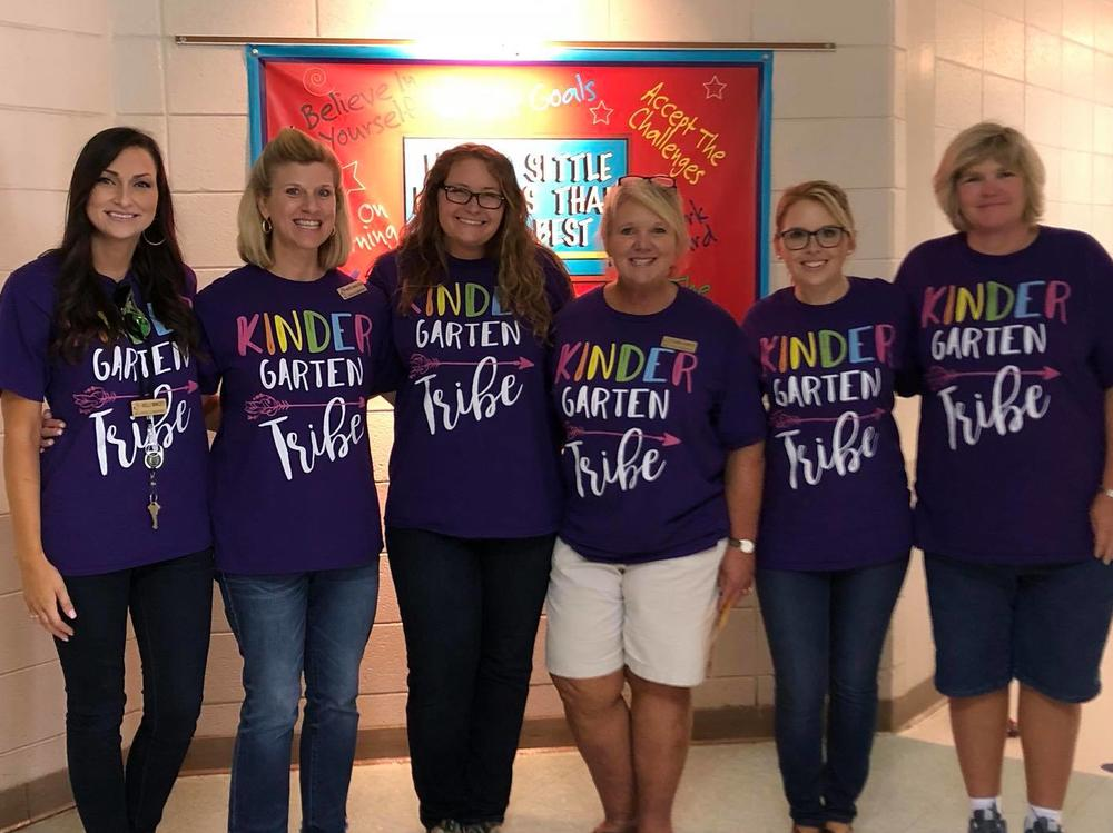 Thanks for a great first week with our Kindergarten Tribe!!
