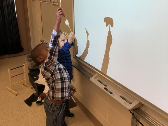 Kindergarten What is a shadow? How is it made?
