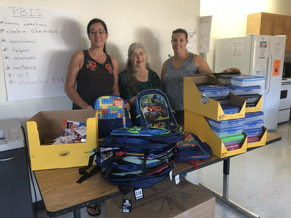 Lion Club donates backpacks