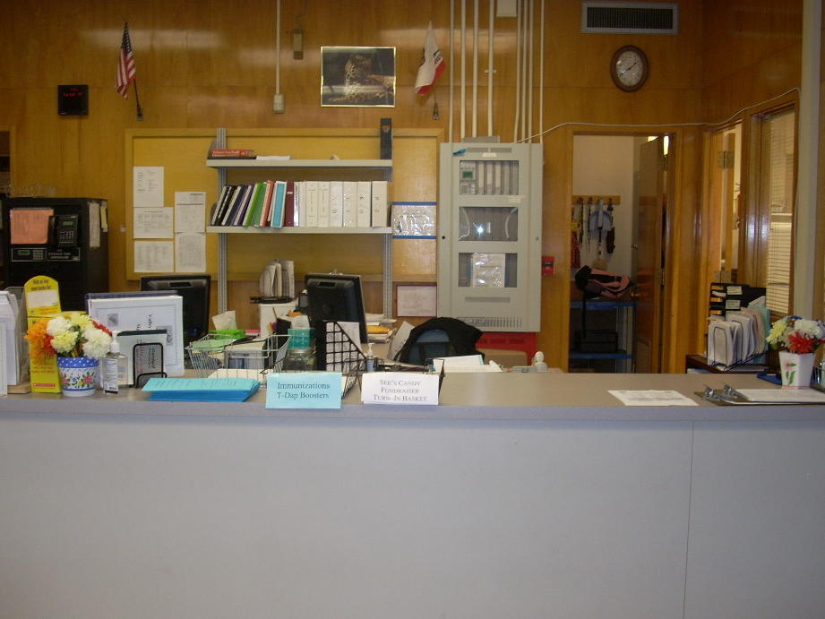office manager and attendance desks