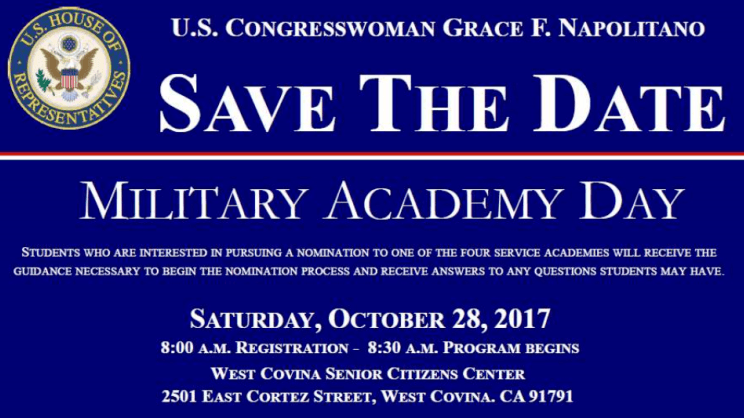 Military Academy Day for students who are interested in joining the armed forces