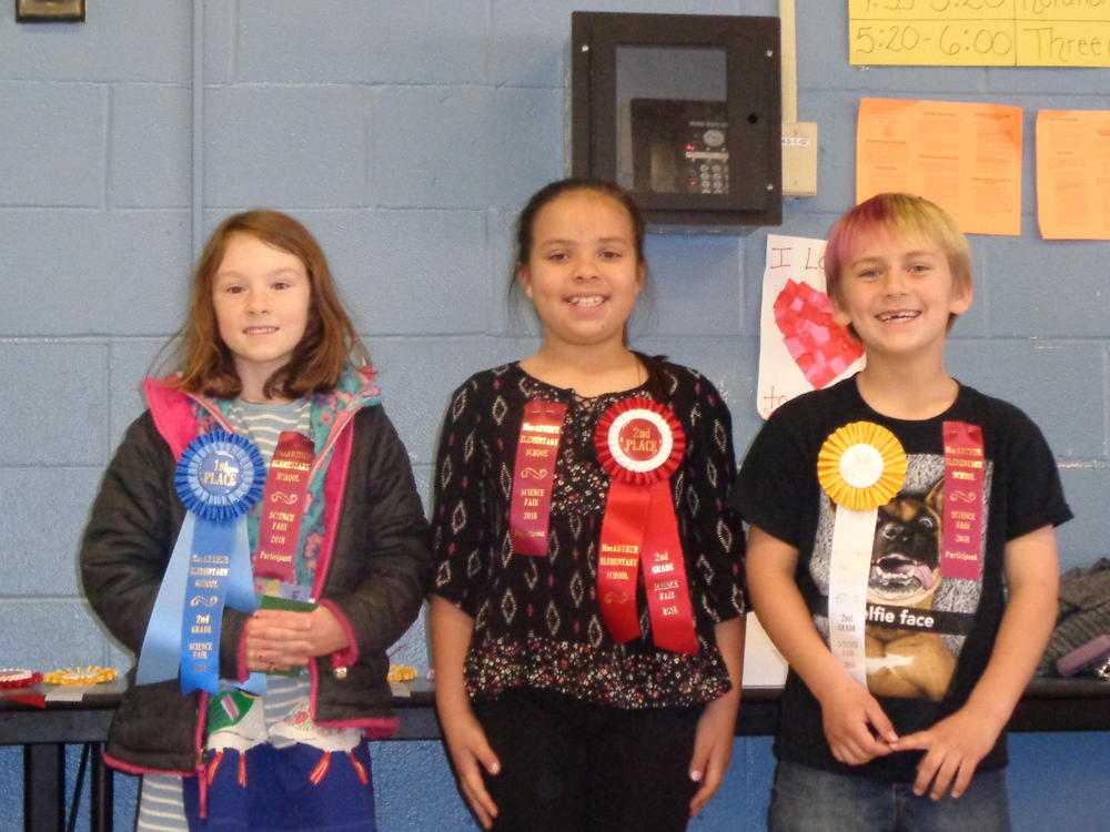 1st Grade--1st place--P. Ringia 2nd place- N. Valencia 3rd place-Q. Kie